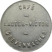Token - Café Lauter-Victor (Grevenmacher) – obverse