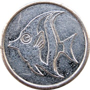 Token - For Amusement Only (Angelfish) – reverse