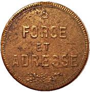 Token - Honneur / Force et adresse – reverse