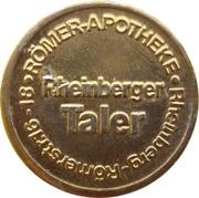 Rheinberger Taler - Römer Apotheke (Rheinberg) – obverse