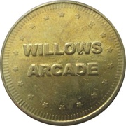 Game Token - Willows Arcade – obverse