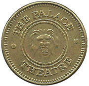 Game Token - The Palace Theatre – obverse