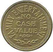 Game Token - The Palace Theatre – reverse