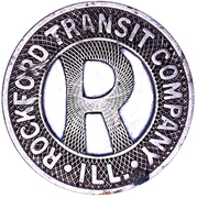 1 City Fare - Rockford Transit Company (Rockford, Illinois) – obverse