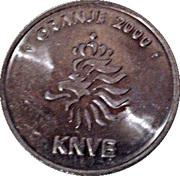Token - KNVB Oranje 2000 (Bert Konterman) – reverse