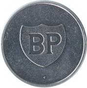 Token BP - Les cracks du sport Belge (Herman van Springel) – reverse
