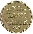 Vacuum Token (No Cash Value) – reverse