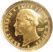 20 Mark - Ernst Herzog von Sachsen Coburg und Gotha (Restrike) – obverse