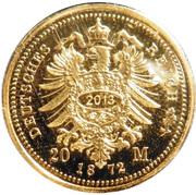 20 Mark - Ernst Herzog von Sachsen Coburg und Gotha (Restrike) – reverse