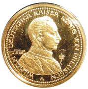 10 Mark - Wilhelm II Deutscher Kaiser König von Preußen (Restrike) – obverse