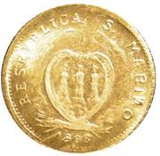 1 Scudi - Resumption of Coinage (Mini Replica) – obverse