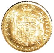 40 Lire - Napoleon I (Mini replica) – reverse