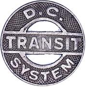 1 Fare - D.C. Transit System – obverse