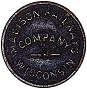 Token - Madison Railways Company (School Children Only) – obverse