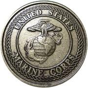 Token - American Legion (United States Marine Corps) – reverse