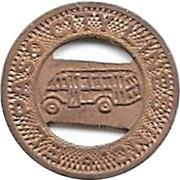 1 Fare - El Paso City Lines, Inc. (El Paso, Texas) – obverse