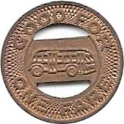 1 Fare - El Paso City Lines, Inc. (El Paso, Texas) – reverse