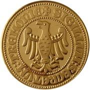Token - Centennial Dortmund Municipal Archives – reverse