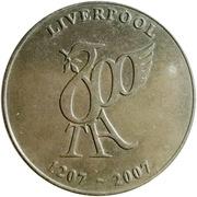 Token - Liverpool 800th birthday – obverse
