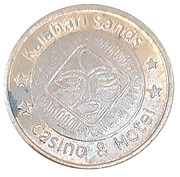 50 Cents - Kalahari Sands (Sun International Casinos; Windhoek) – obverse