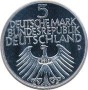 5 Deutsche Mark (Germanic Museum) – obverse