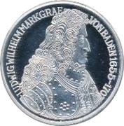 5 Deutsche Mark (Markgraf von Baden) – reverse