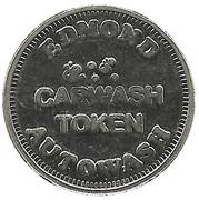 Carwash Token - Edmond Autowash (Edmond, Oklahoma) – reverse