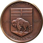 Medal - Manitoba Centennial – obverse