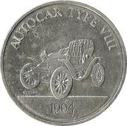 Token - Sunoco Antique Car Coin Series 1 (Autocar Type VIII) – obverse