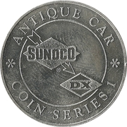 Token - Sunoco Antique Car Coin Series 1 (Detroit Electric) – reverse