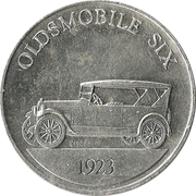 Token - Sunoco Antique Car Coin Series 1 (Oldsmobile Six) – obverse