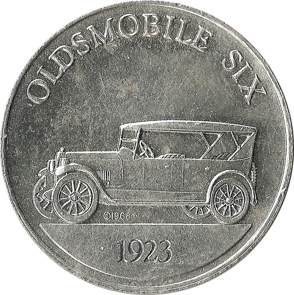 sunoco antique car coins