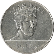 Esso Token - 1970 England World Cup Squad (Alan Ball) – obverse