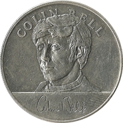 Esso Token - 1970 England World Cup Squad (Colin Bell) – obverse