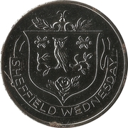 Esso Token - FA Cup Centenary 1872-1972 (Sheffield Wednesday) – obverse