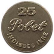25 Øre - Polet Indløses ikke – obverse