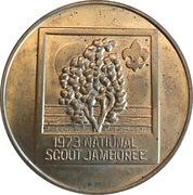 Token - National Scout Jamboree – reverse