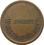 Car Wash Token - Ernesti (Waldshut-Tiengen, Type 2) – obverse