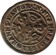 Counter Token (Hans Laufer; Nuremberg) – obverse