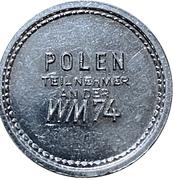 Token - 1974 FIFA World Cup (Poland) – reverse
