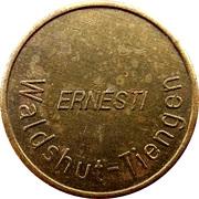 Car Wash Token - Ernesti (Waldshut-Tiengen, Type 1) – obverse