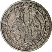 Token - St. Rupertus and St. Virgilius – obverse