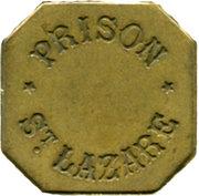 25 Centimes - Prison Saint-Lazare (Paris) – obverse