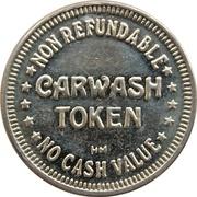 Carwash Token (Non Refundable, No Cash Value) – obverse