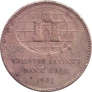 Token - Trustee Savings Bank Week 1961 – reverse