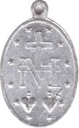 Miraculous Medal – reverse