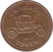 Carwash Token (No Cash Value; 25 mm; HH) – obverse