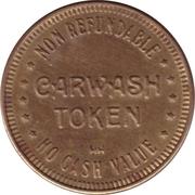 Carwash Token (No Cash Value; 25 mm; HH) – reverse