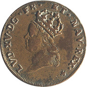 Token - Louis XV (Paris Administration Municipale) – obverse