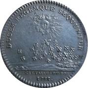 Token - Louis XV (Secrétaires du Roi) – reverse